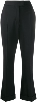 Brunello Cucinelli Cropped Flared Trousers