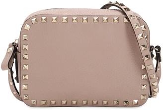 Valentino Rockstud Leather Camera Bag