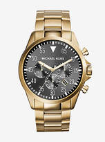 Michael Kors Gage Gold-Tone Watch