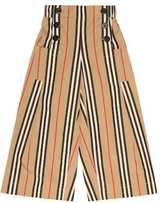 Burberry Icon Stripe cotton pants