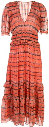 Ulla Johnson Elodie striped print dress