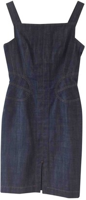 Alaia Blue Denim - Jeans Dress for Women