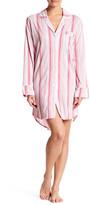 BedHead Striped Long Sleeve Nightshirt