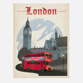 Anderson Design Group World Travel London 18x24