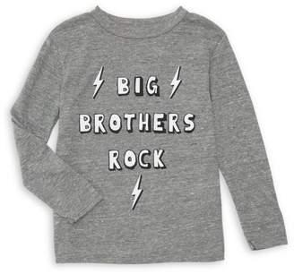 Chaser Boy's Big Brothers Rock Slogan Long-Sleeve Tee