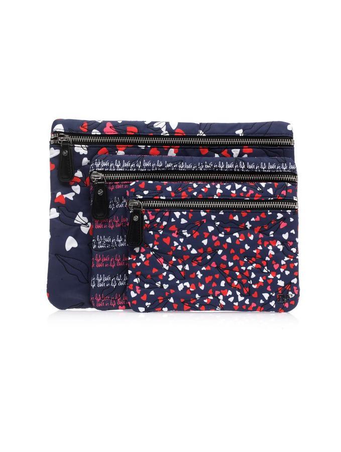 Diane von Furstenberg Voyage cosmetic pouches