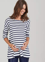 Isabella Oliver Caia Maternity Stripe Top