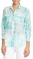 Lauren Ralph Lauren Tie-Dye Button-Down Shirt