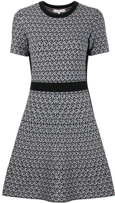 Tommy Hilfiger Geometric Print Dress