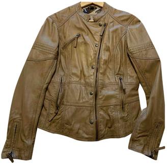 Oakwood Camel Leather Leather jackets