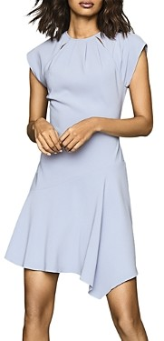 Reiss Belle Cap-Sleeve Asymmetrical Dress