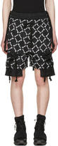 Kokon To Zai Black Gathered Pockets Shorts