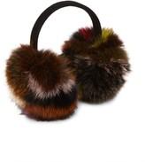 Surell Fox Fur Expandable Earmuffs