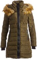 XOXO Olive Long Puffer Coat