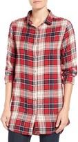 Jag Jeans Women's 'Magnolia' Plaid Tunic