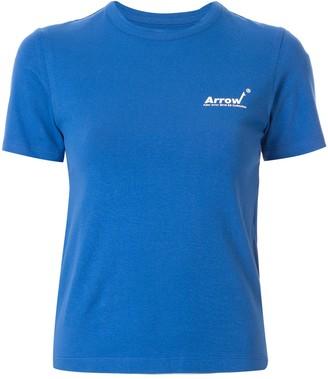 Ader Error logo print slim fit T-shirt