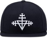 Black Scale Triple Templar Snapback Cap