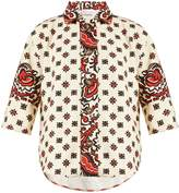 RED Valentino Paisley floral-print cotton shirt