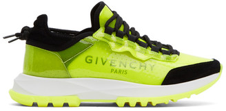 Givenchy Yellow Spectre Runners Sneakers