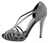 Caparros Women's Precious Evening Platform Sandals, Toast Flash, Size 9.5.
