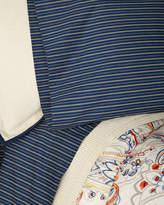 Ralph Lauren Home Wendell Stripe Queen Fitted Sheet