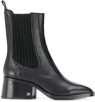 Sam Edelman Square Toe Ankle Boots