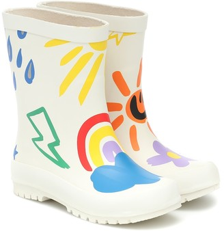 Stella McCartney Kids Printed rubber boots