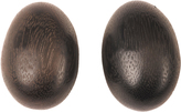 Josie Natori Acacia Wood Teardrop Earrings