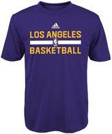 adidas Boys 4-7 Los Angeles Lakers Practice climalite Tee