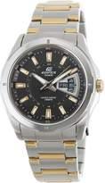 Casio Men's Edifice EF129SG-1AV Silver Stainless-Steel Quartz Watch with Dial