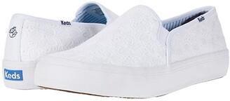 Keds DRAPER JAMES Double Decker DJ Eyelet (White) Women's Shoes