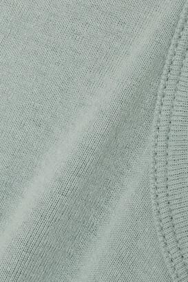Bassike + Net Sustain Organic Cotton-jersey Tank - Blue