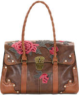 Patricia Nash Vienna Large Flap Satchel