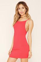 Forever 21 FOREVER 21+ Open-Back Mini Dress