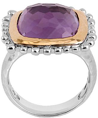 Michael Aram Molten 18K & Silver 9.50 Ct. Tw. Amethyst Ring