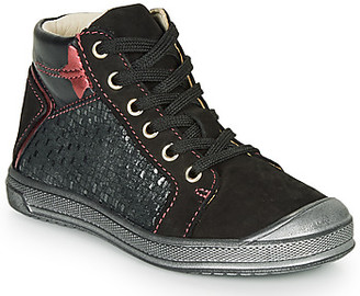 GBB ORENGETTE girls's Shoes (High-top Trainers) in Black