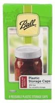 Ball Set of 8 Regular Mouth Plastic Storage Caps