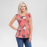 Expected by Lilac Maternity Ruffled Peplum Top