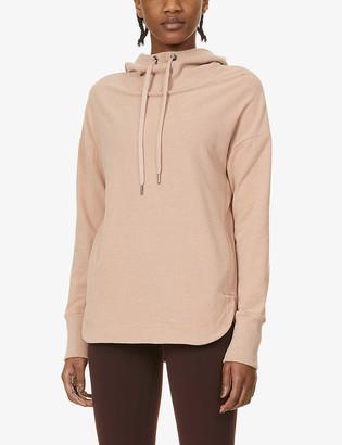 Sweaty Betty Escape Luxe Fleece stretch-jersey hoody