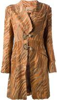 John Galliano Vintage tiger print coat