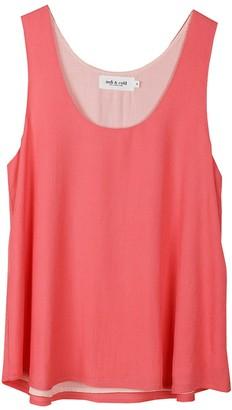 Indi&Cold - Coral Anais Flair Top - M - Pink