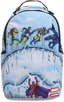 Sprayground X-men Running Shark Printed Backpack