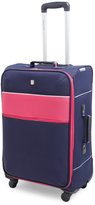 "Swiss Gear 24"" Navy & Pink Upright Spinner"