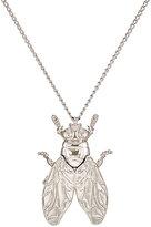 Balenciaga Women's Bug Pendant Necklace