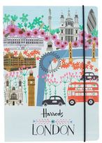 Harrods London Collage A5 Notebook