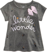 First Impressions Little Wonder-Print Cotton T-Shirt, Baby Girls (0-24 months), Created for Macy's