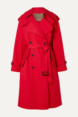 Marc Jacobs Cotton-poplin Trench Coat - Red