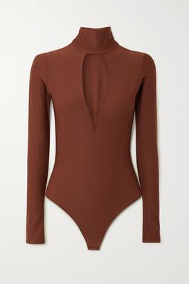 Alix Hewlett Cutout Stretch-jersey Bodysuit