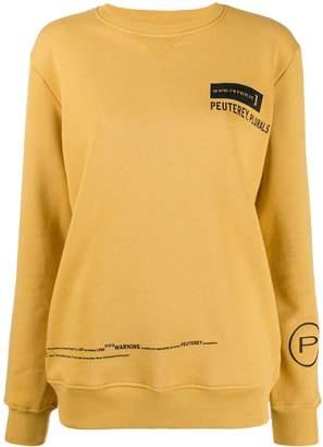 Peuterey logo print sweatshirt