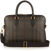 Burberry Shoes & Accessories Barrow London-checked Briefcase